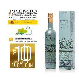 Aceite de oliva virgen extra temprano frutado verde dulce – edición limitada