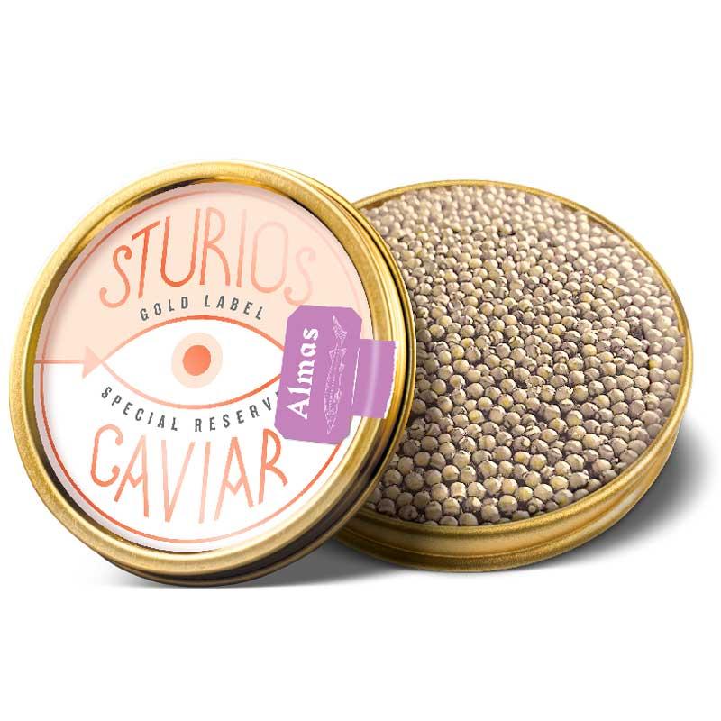 Caviar Iraní Beluga Almas