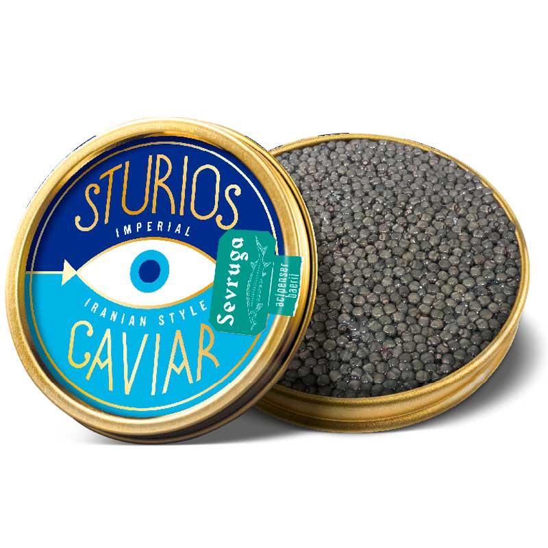 Caviar Iraní Sevruga