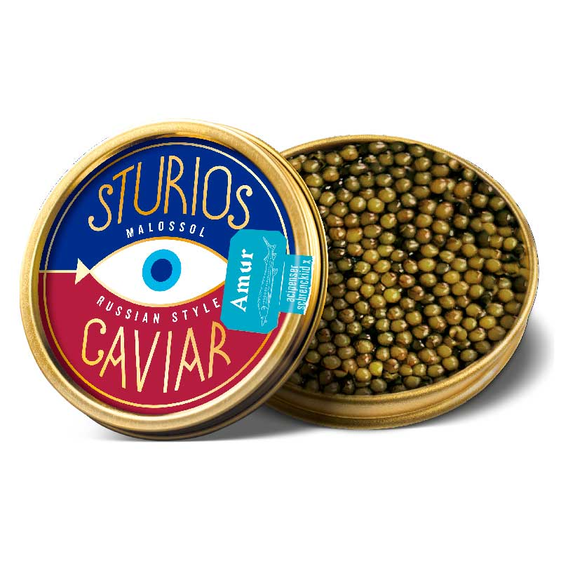 Caviar Ruso Amur