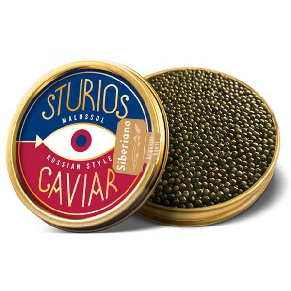 Caviar Ruso Siberiano