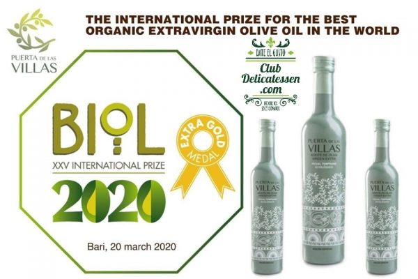 Medalla de Oro Bari 2020, mejor AOVE ecológico del Mundo
