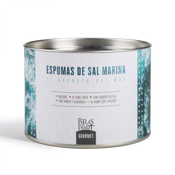 Espuma de sal marina española. Tarro 100 gr.