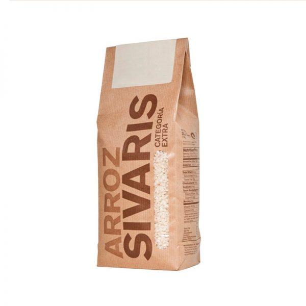 Arroces de valencia delicatessen en saco de papel de 1 kgr.