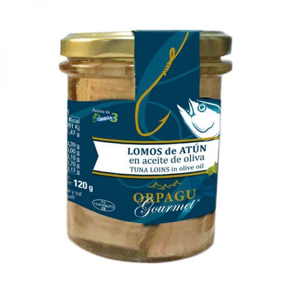 conserva de lomos de atún