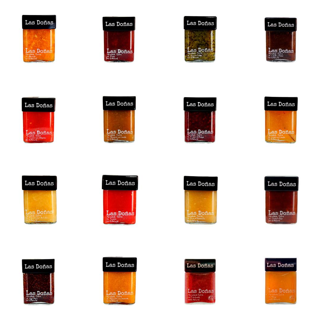 Selección de mermeladas Las Doñas a tu elección