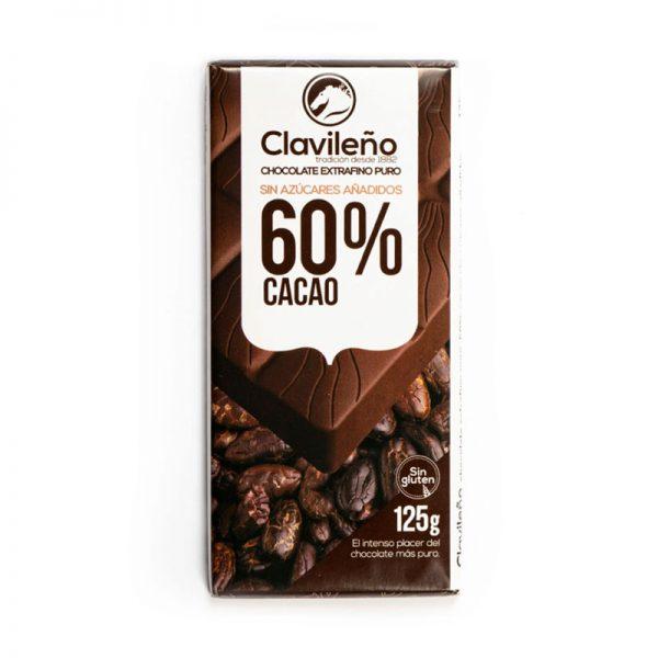 Chocolate Extrafino puro sin azúcares añadidos