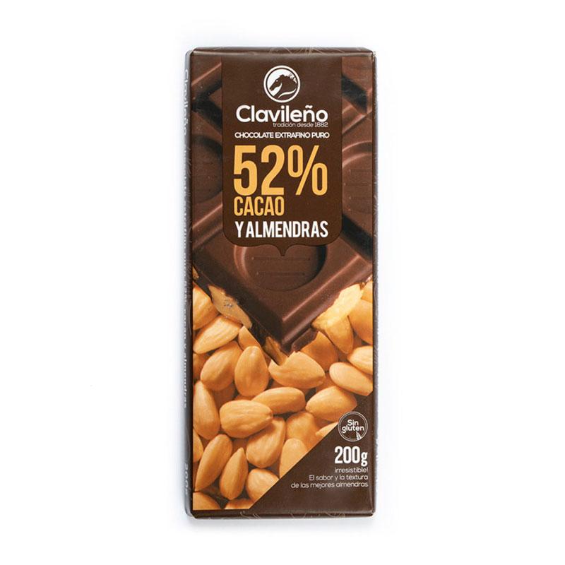 Extrafino puro 52% Cacao y almendras