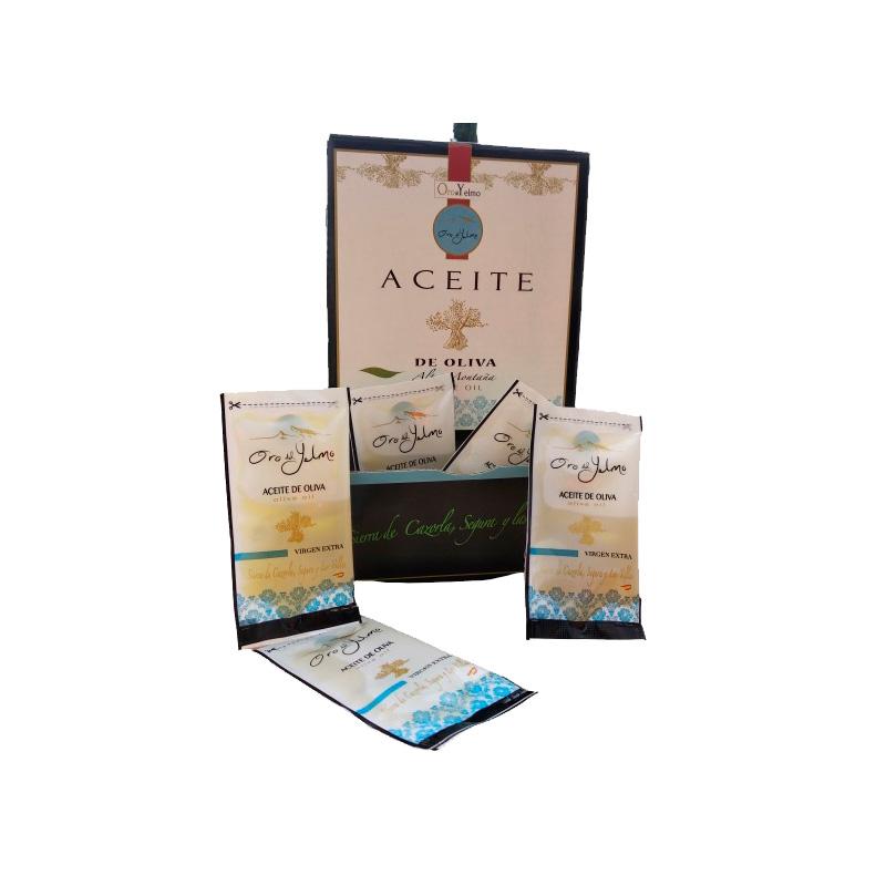 Aceite de oliva Virgen Extra. Sobres Monodosis