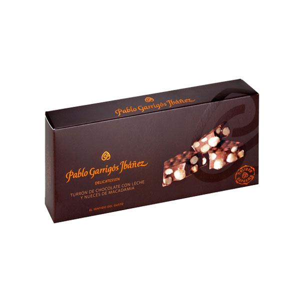 Chocolate con Leche y Nueces de Macadamia
