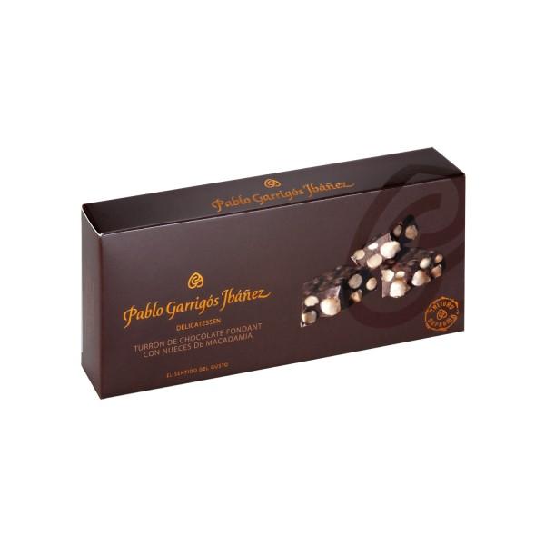 Chocolate Fondant con Nueces de Macadamia