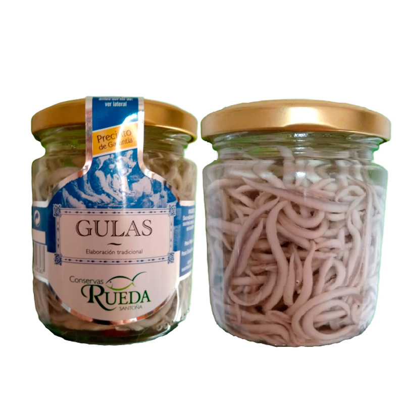 Gulas en aceite de oliva