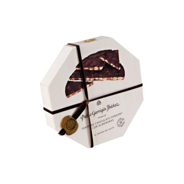 Torta de Chocolate Fondant con Almendras Premium