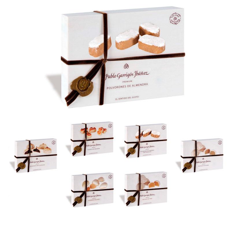 Elije tus 4 dulces premium favoritos