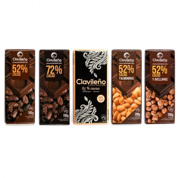 Selección de Chocolates Negros