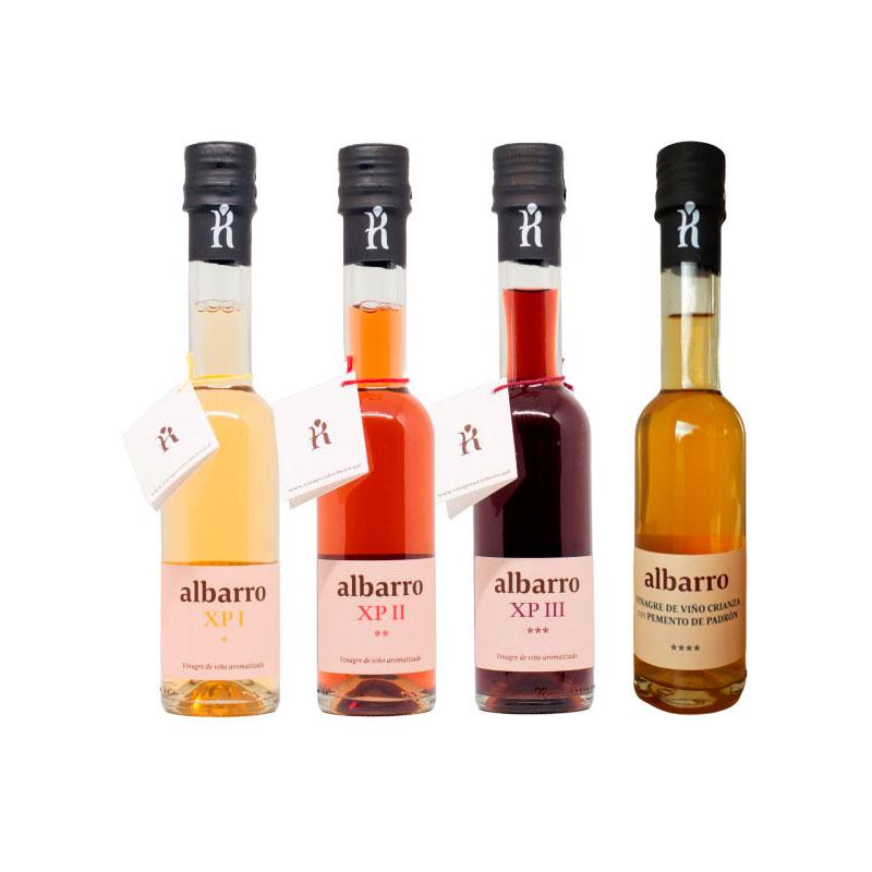 Selección de Vinagres do Ribeiro Albarro, vinagre de autor