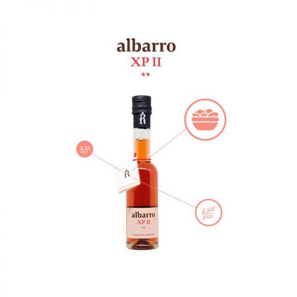 Vinagre do Ribeiro Albarro XP II, propiedades
