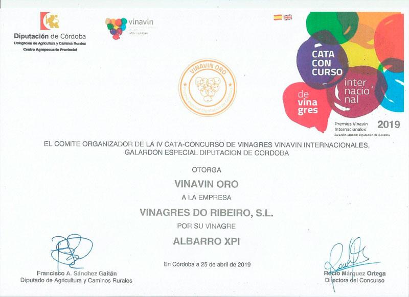Vinavin Oro 2019