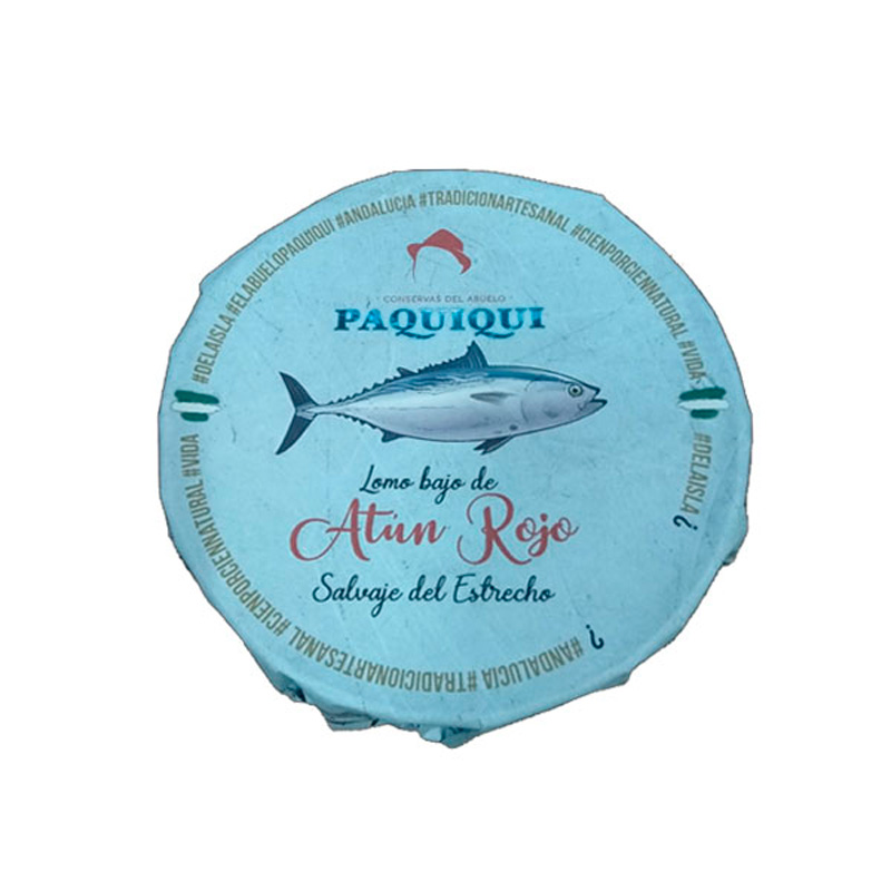 Lomo bajo de atún rojo en AOVE