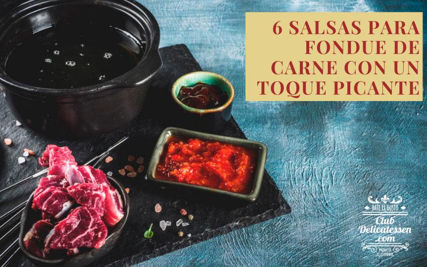 6 salsas para fondue de carne o fondue bourguignon: recetas y platos