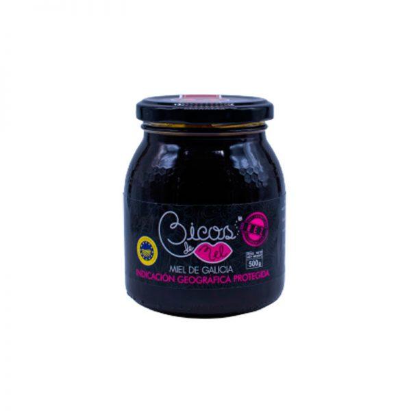 Miel monofloral de Brezo de Galicia IGP 500 g.