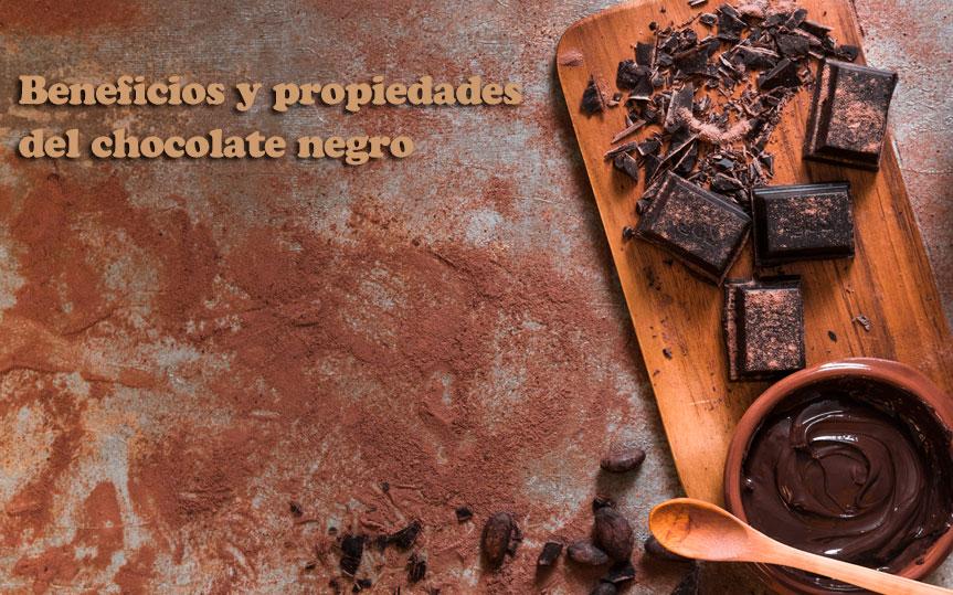 Descubre todos los beneficios y propiedades del chocolate negro