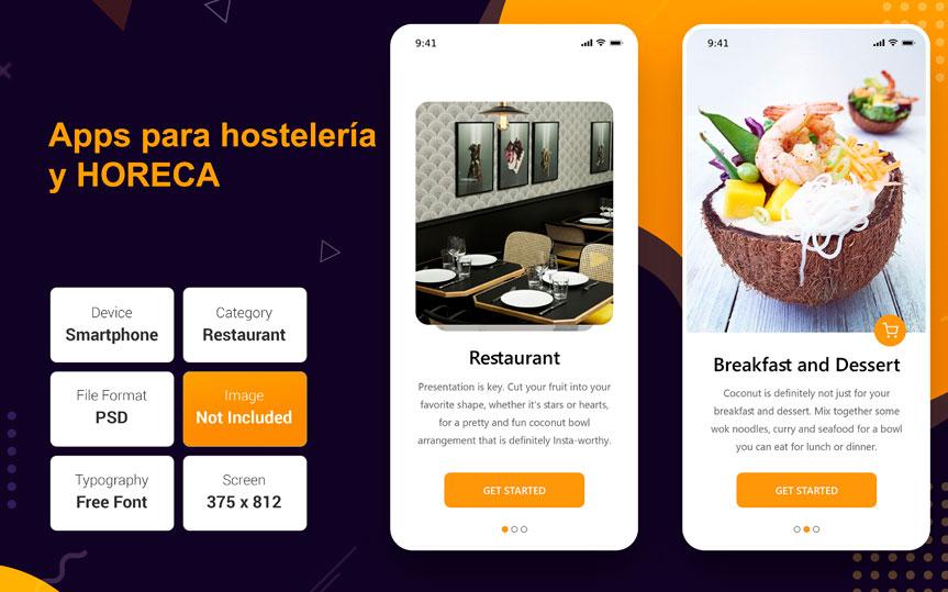 Carta digital, innovaciones esenciales y apps para hostelería y HORECA
