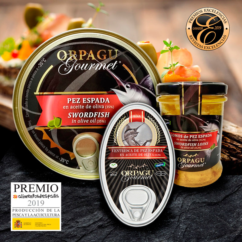 Pez Espada en aceite de oliva