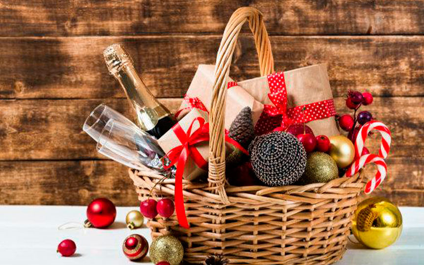 Cesta de Navidad online, aprende a preparar una con estos consejos y claves