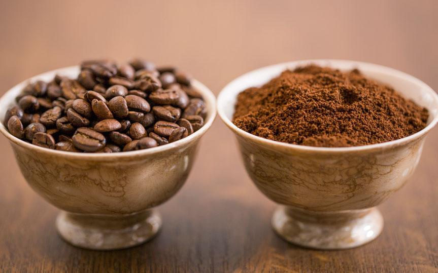 ¿Café en grano o molido? Tipos de molienda según tu cafetera