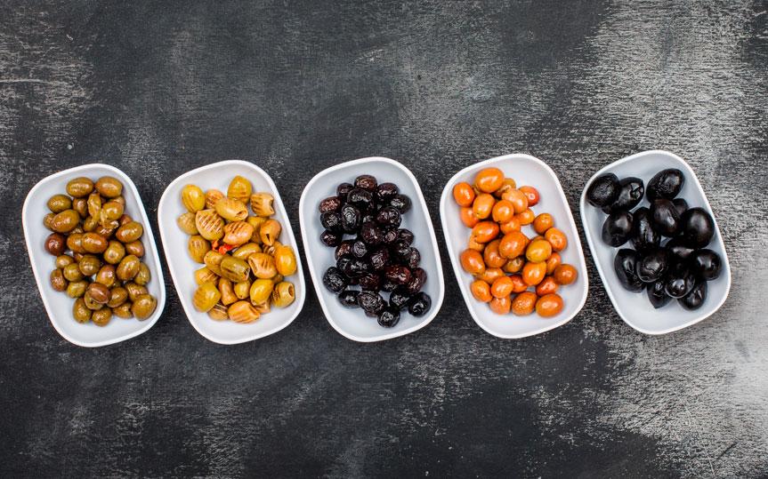Tipos de aceitunas de mesa: ¿cuántas hay y cuáles son sus beneficios?