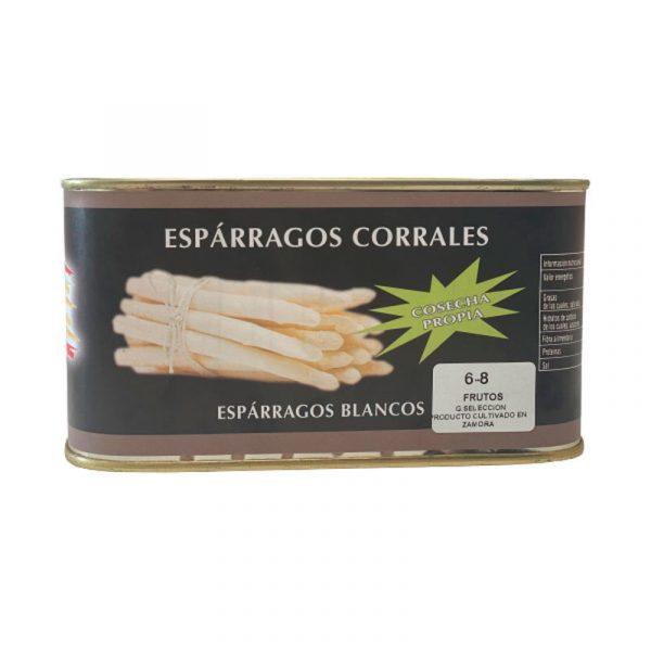 Espárragos blancos Corrales de Fuentesaúco, Zamora
