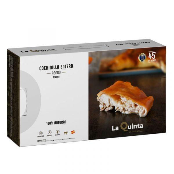 Cochinillo de Segovia entero asado