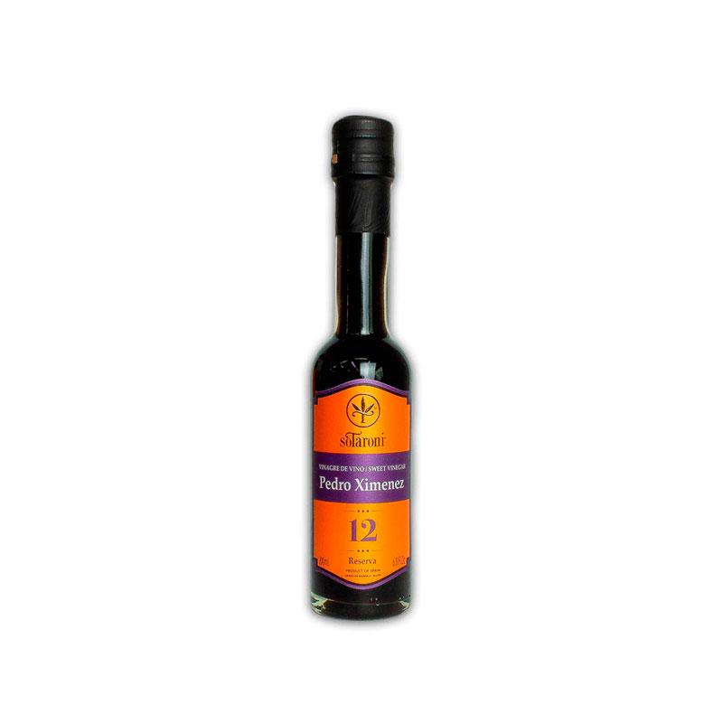Vinagre de Pedro Ximenez Solera Reserva 12